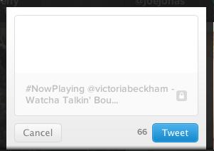 Twitter #Music Tweet